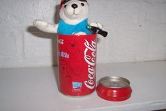 2004 Athens coca cola Olympic Polar Bear in Kingwood, Texas