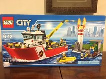 Lego City Fire Boat in Okinawa, Japan