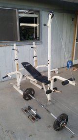 Legacy Bench Press in Yucca Valley, California