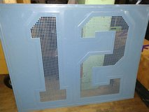 12th Man Sign--Indoor / Outdoor Galvanized Metal in Fort Lewis, Washington