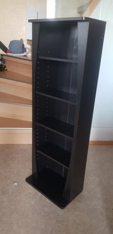 Beautiful Black Book/Video/CD/Game case shelf in Stuttgart, GE
