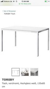 Ikea White Table TOSBY in Wiesbaden, GE