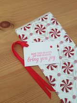 New, 5 Goody Bags With Gift Tags Handmade in Ramstein, Germany
