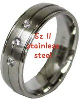 Stainless steel - sz 11 in Pearland, Texas
