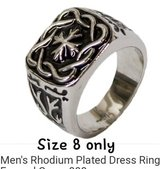 Mens Ring-sz 8 only in Pearland, Texas