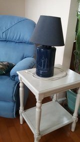 *REDUCED* NAUTICAL LAMP AND SIDE TABLE in Beaufort, South Carolina