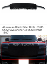 Silverado/Avalanche billet grille in Fort Rucker, Alabama