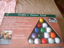 New GOLFER'S PUTTER POOL Set by Dennco, Inc in Spring, Texas