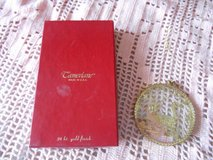 "CAMERLANE Boxed Ornamnet!  ""CANADA"" 24kt Gold Finish.  In Orig Box in Spring, Texas"