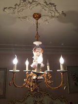 antique ceiling light in Spangdahlem, Germany