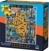 Puzzle - Best of Chicago (500 pieces) (NEW) in Plainfield, Illinois