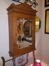 Antique Oak Mirrored Medicine Cabinet in Fort Leonard Wood, Missouri