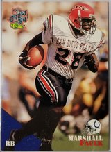 Marshall Faulk Rookie in Camp Lejeune, North Carolina