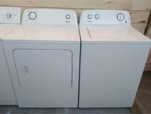 Amana washer and electric dryer set in Alamogordo, New Mexico