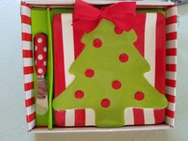 NEW Christmas tree cheese set by Mud Pie in Bolingbrook, Illinois