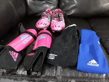 Size 3 girls soccer cleats in Camp Lejeune, North Carolina