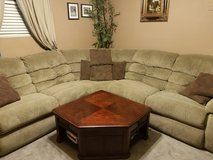 Sectional with lift table in Yucca Valley, California