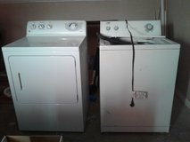 Washer &  Dryer in San Antonio, Texas