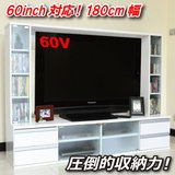 TV STAND SHELVES with GLASS DOOR and DRAWERS in Okinawa, Japan