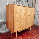 Mid Century Shoe Cabinet with Double Hinged Doors in Ramstein, Germany
