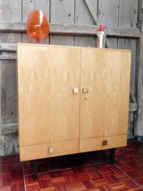 Mid Centrury Highboard Style Cabinet with 2 Drawers in Ramstein, Germany