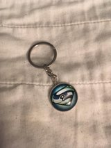 SEATTLE SEAHAWKS Cabochon Glass SUPER HAWK Key Chains *** NEW *** in Tacoma, Washington