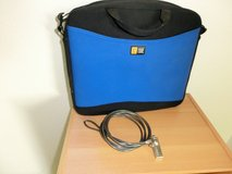 Neoprene Laptop Bag and Cable Lock in Ramstein, Germany