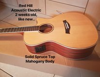 Brand new Acoustic-Electric Guitar, solid spruce top in Ramstein, Germany