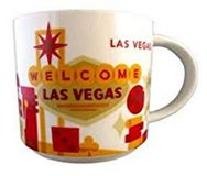 "NEW!! Starbucks ""You are Here"" Las Vegas Mug 14 oz. in Clarksville, Tennessee"