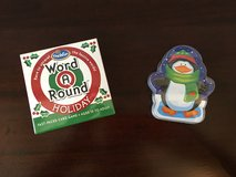 Holiday Toys! NEW / UNUSED Holiday Word-a-Round + Playing Cards in Westmont, Illinois