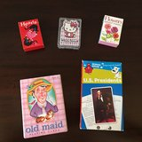 Set of 5 - Playing Card Games + President Flash Cards in Westmont, Illinois