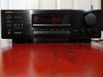 ONKYO A-SV 210 AUDIO VIDEO CONTROL AMPLIFIER remote included in Fairfield, California