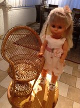 Gorgeous Lissi Batz Doll with Chair in Ramstein, Germany