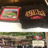 49ers Hoodie and signed Picture in Travis AFB, California