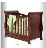 Convertible Baby Bed with Mattress in Clarksville, Tennessee