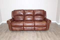 Leather Electric Recliner- Brown in Kingwood, Texas
