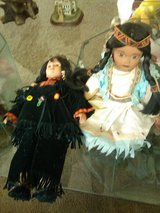 2 Indian Dolls in 29 Palms, California