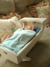 Porcelain Doll in Cradle in 29 Palms, California
