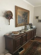 solid walnut wood side board in perfect shape in Spangdahlem, Germany