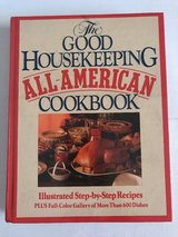 Vintage 1987 The Good Housekeeping All American Cookbook 1st Edition Hard Cover in Morris, Illinois