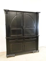 Large Scale Neo-Classical TV Armoire in Pearland, Texas