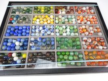 Vintage Marbles and Display Case in Pasadena, Texas
