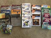 Abeka 6th grade homeschool books in Plainfield, Illinois