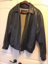 Mens Leather Jacket Size Large in Joliet, Illinois