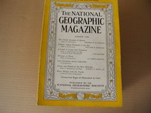 Vintage National Geographic Books (1944-1956) in Cherry Point, North Carolina