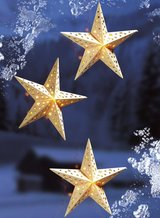 3 pc set wooden Stars for your Window in Ramstein, Germany