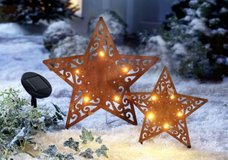 2 pc. Set Stars for outdoor Decoration in Ramstein, Germany