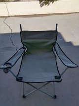 camping chair in Yucca Valley, California