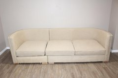 Sofa- Madison Natural Armless corner wedge in Spring, Texas