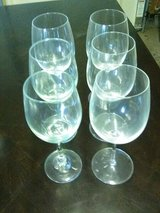 Set of 6 Wine Glasses in Yucca Valley, California